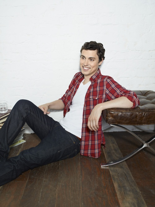 Someone grew up ridiculously well. John Francis Daley