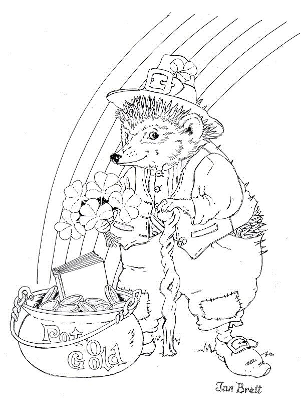 o byrnes st patricks day coloring pages - photo #14
