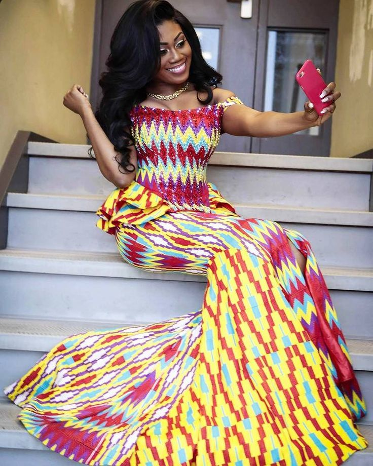 Kente Wedding Gowns: 1000+ Images About GHANAIAN BRIDE On Pinterest