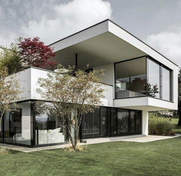 2412 best arquitetura images on pinterest house design for Casa moderna zurigo