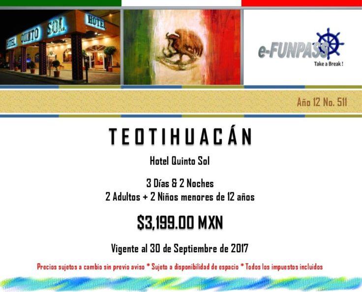 e-FUNPASS Año 12 No. 511 :) Teotihuacán