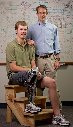 New Robotic Prosthetic Leg Works Like The Real Limb ~ Ideas, Inventions And Innovations