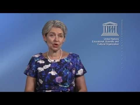UNESCO's Director General, Irina Bokova, thanks all NET-MED Youth members!