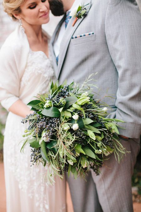 Courtyards & Cobbletones Rustic Copper Engagement + Wedding Inspiration