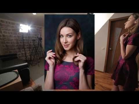Урок 2. Домашняя фотостудия. Съемка с одним источником. - YouTube
