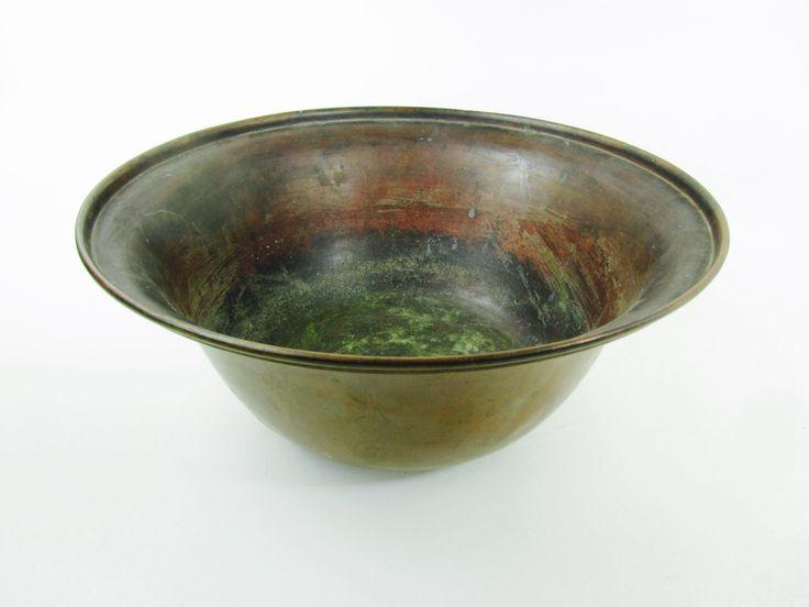 Copper bowlhand made bowlsolid copper vasehammered
