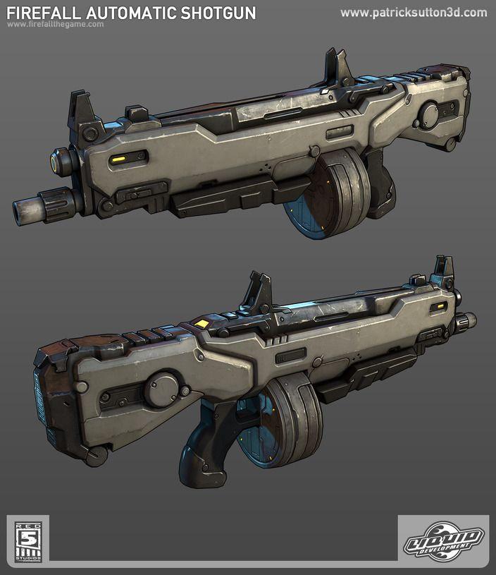 Firefall Automatic Shotgun