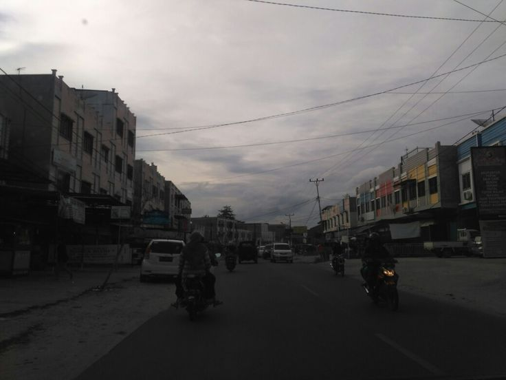 Pinggiran Kota Pekanbaru, Riau.