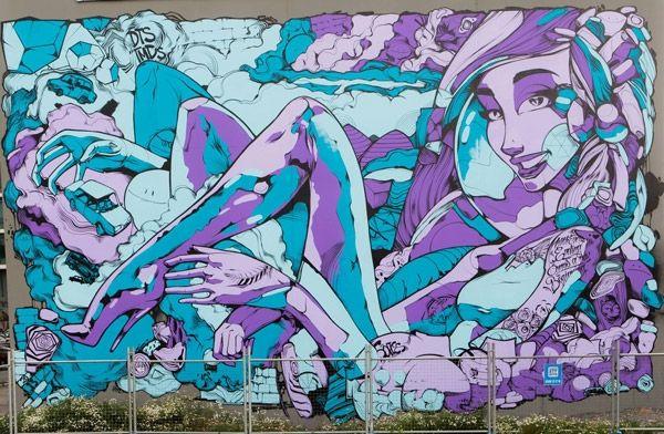 'First Coat' Street Art Festival | Toowoomba, QLD. | Ironlak