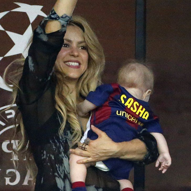 Watch This Cute Video of Shakira and Gerard Piqué's Son Kicking a Soccer Ball