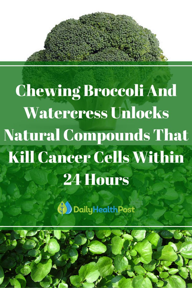 You've probably heard of eating foods of every color of the rainbow throughout the day, but if you have a family history of cancer, there's one color that should always be present on your plate: green.Cruciferous vegetables like cabbage and brussel sprouts may not sound all that appealing to most people, but they have incredible benefits when it comes to maintaining a healthy body and preventing cancer.Two of its most popular family members, broccoli and watercress, are no exception…