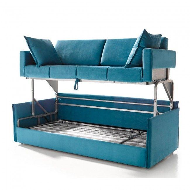 Las 25 mejores ideas sobre literas sof s en pinterest y for Cuanto sale un sofa cama