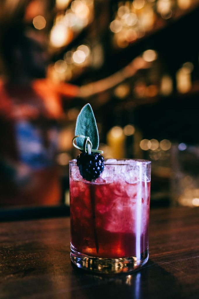 Williams & Graham Blackberry Sage Smash  Muddle: 4 medsage leaves 4 medium blackberries Add: 2 ounces Knob Creek Bourbon 1/4 ounce lemon juice 1/2 ounce simple syrup Directions: Shake and serve over ice, garnished with fresh sage leaf and blackberry. …Or you might like: Williams & Graham Vieux Carré 1 ounce Russell's Reserve 6 year Rye 1 ounce Pierre Ferrand Ambre Cognac 1 ounce Carpano Antica Vermouth 1 bar spoon of Benedictine 2 dashes Angostura  2 dashes Peychouds