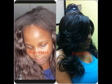 Best 25 full head sew in ideas on pinterest sew in leave out getting your weave done right full head sew in exposed lahair lahairstylist pmusecretfo Image collections