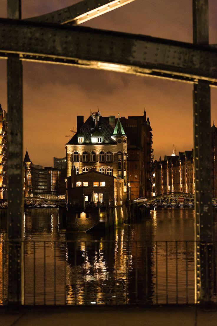 Speicherstadt, Hamburg, Germany
