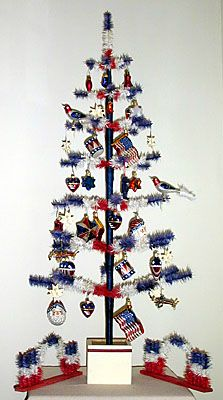 25 best Decorated Patriotic Christmas tree images on Pinterest ...