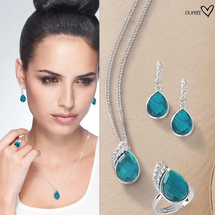 Azul turquesa impactante. Moda femenina DUPREE. #accesorios #elegantes