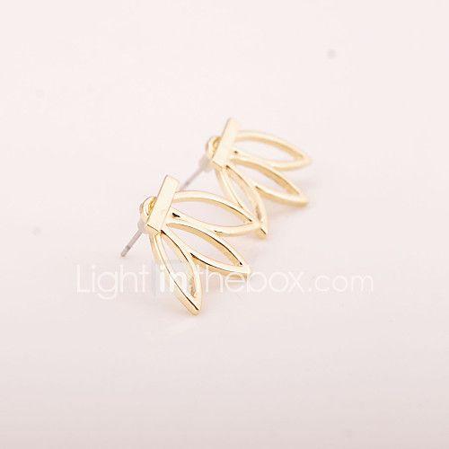 Oorknopjes Basisontwerp Bloemen Europees Legering Bloemvorm Zilver Gouden Sieraden Voor Feest Verjaardag Dagelijks Causaal 1 Paar 2017 - €1.93