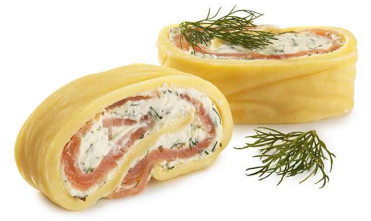 Norwegian Salmon Rolls