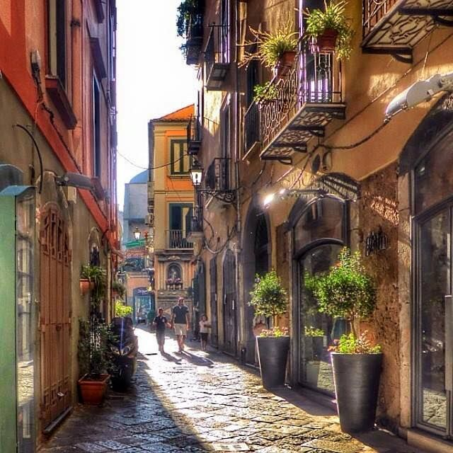 Il centro storico della città di #Salerno