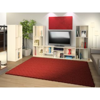 White Bookcase/ TV Stand | Overstock.com Shopping - The Best Deals on Entertainment Centers