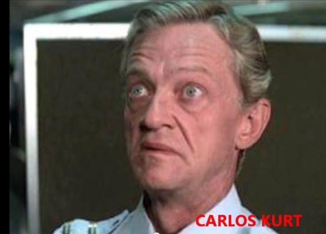 MORREU-CARLOS KURT-um dos melhores atores do humorismo da Rede Globo. Atuou durante um bom tempo no programa OS TRAPALHÕES onde sofria nas mãos de RENATO ARAGÃO. DEDE SANTANA. ZACARIAS E MUSSUM