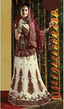 Bridal Indian Wedding Lehenga Choli in Off White Color Georgette with Circular Style | FH558683327 Follow us @heenastyle #latestlehenga #lehengasareesonline #lehengasuit #onlinelehengashopping #bridallehengasonline #designerbridallehengas #weddinglehengacholi #pakistanilehenga #pinklehenga #lehengastyles #fishcutlehenga #bollywoodlehenga #designerlehengasaree #lehengasareeonlineshopping #indianbridallehenga #weddinglehengacholi #weddingdress #designergown #heenastyle