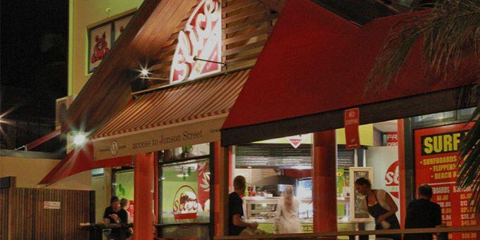 Slice Pizzeria in Byron Bay, NSW