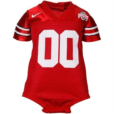 Nike Ohio State Buckeyes Scarlet Infant Football Jersey Creeper