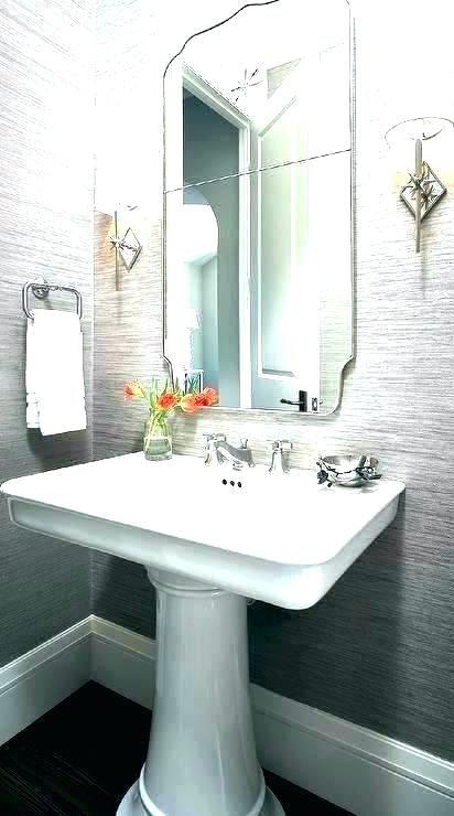 base too big best pedestal sink small pedestal sinks for powder room rh pinterest com
