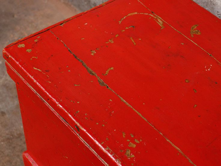 Red Chest  from Scaramanga's vintage furniture and interior collection #vintage #storage #interior