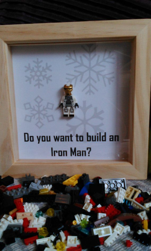 Brick Figure Art 'Iron Man'. Do you want to by DanMakesWithLove
