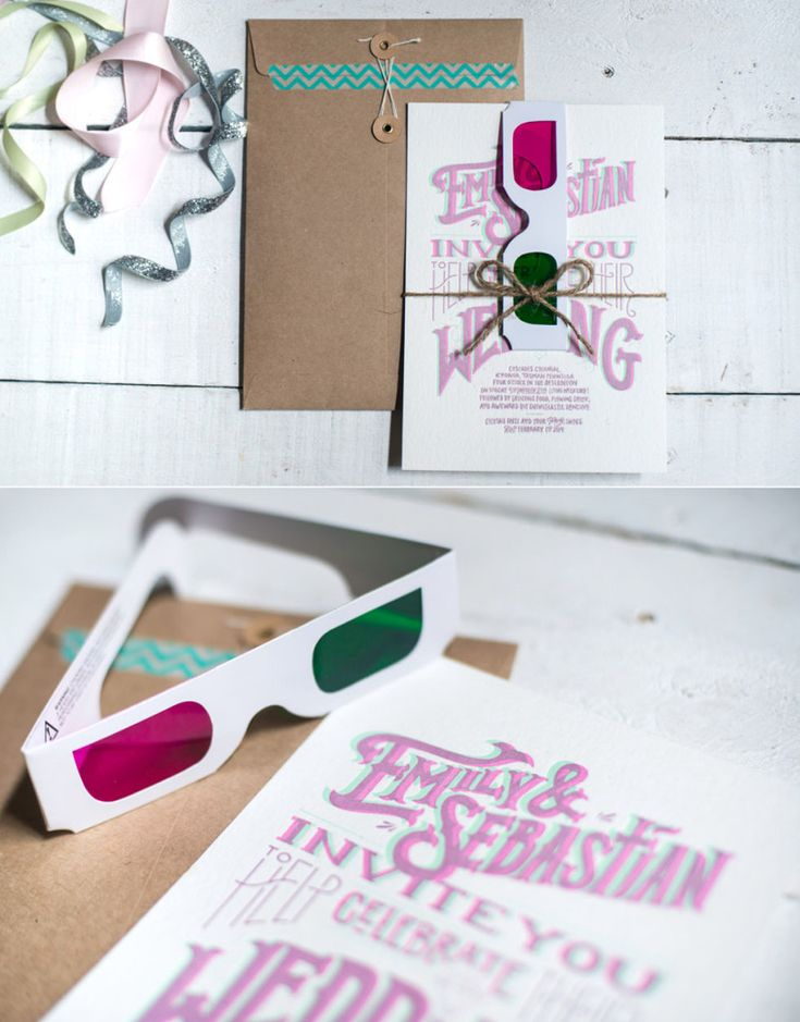 10 Creatives Wedding Invites That Caught Our