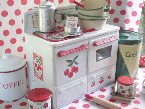 Vintage Kitchen Tin
