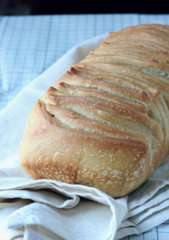 Pane all'olio con pasta madre