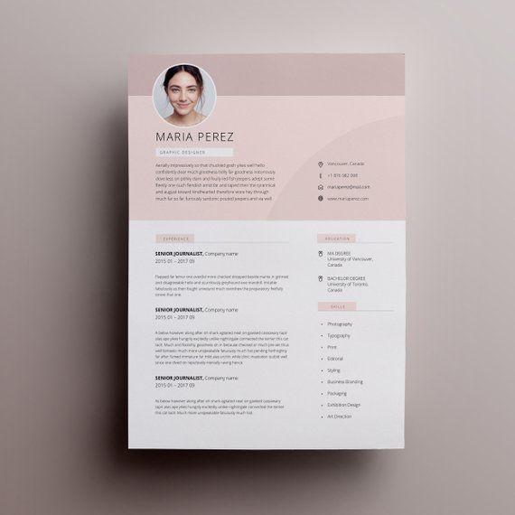 Modern Resume Design Resume Template Word Cv Template Word Cv Design Curriculum Vitae Free Resume Template Teacher Resume With Photo Lebenslauf Design Lebenslaufvorlage Lebenslauf Vorlagen Word
