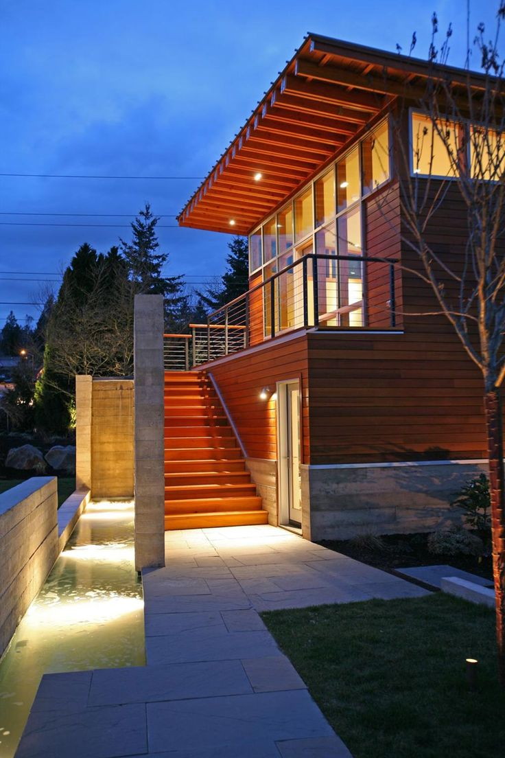 Dyes Inlet Residence Boathouse design by Arkinetic
