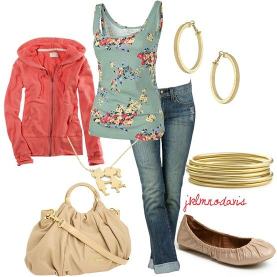 : Colors Combos, Cute Outfits, Tanks Tops, Comfy Casual, Winter Outfits, Outfits Ideas, Flats, Casual Outfits, Gold Jewelry