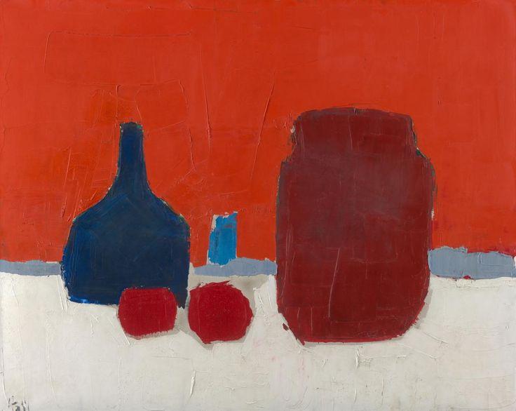 Still lifeStill life (Nature morte) (1953) Nicholas de STAËL oil on canvas 65.0 × 81.2 cm