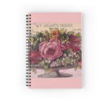 Spiral Notebook.  #roses #vintage #mixedmedia #mixedmediaart #sandrafoster