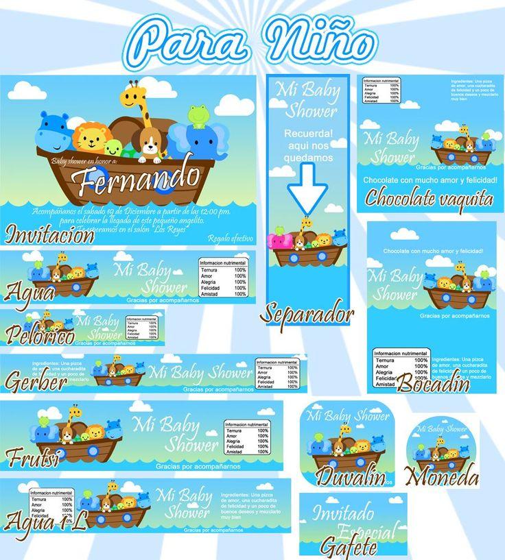 Kit Imprimible Baby Shower Arca Noe Mercadolibre Pictures Wallpaper