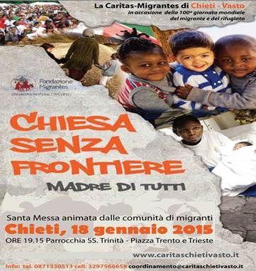 """A Chieti la """"Chiesa senza frontiere"""" - Attualità - Primo Piano"""