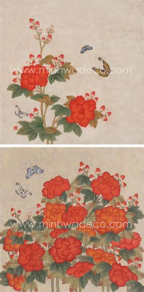 267 best images about Korean Folk Art - MINHWA on ...
