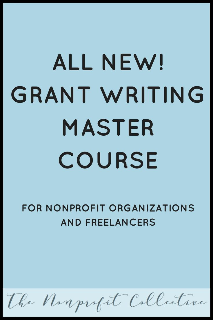 The countdown is beginning! I am releasing my new Grant Writing Master Course the second week of January, just in time for you to all make New Years resolutions to start applying for grants!
