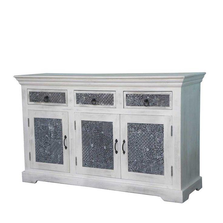 Wohnzimmer Sideboard In Weiss Grau Shabby Chic Jetzt Bestellen Unter Moebel