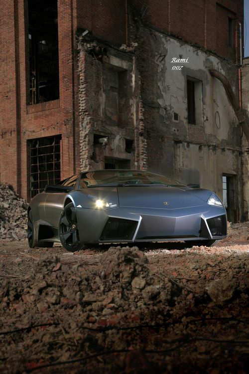 Lamborghini Reventón, Striking Eyes Of Fear And Excitement