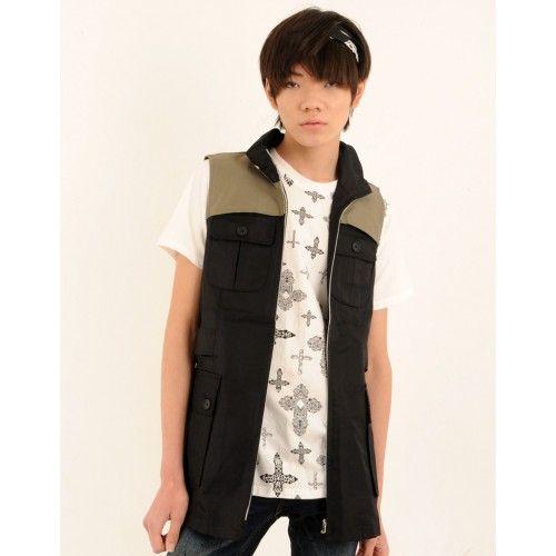 Jenny's Fit Black Sleeveless Jacket. Buy @ http://thehubmarketplace.com/Black-Sleeveless-Jacket