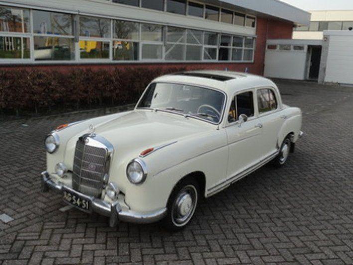 1957 Mercedes-Benz, 220S 29500.00 EUR  Mercedes-Benz 220 S 1957 Schuifdak. originele Nederlandse auto. Motor gereviseerd. nieuw bekleed. geheel gerenoveerd. loopt en rijdt zoals in 1957. 58 jaar oud dus belastingvrij. prijs € 29.500,-  Mercedes-Benz 220 S 1957 Schuifdak. originele Nederlandse auto. Motor gereviseerd. nieuw bekleed. geheel gerenoveerd. loopt en rijdt zoals in 1957. 58 jaar oud du ..  http://www.collectioncar.com/detailed.php?ad=60736&category_id=1