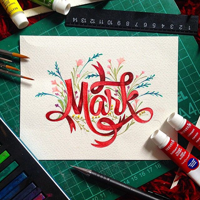 Painted lettering by Patrick Cabral. https://www.instagram.com/darkgravity/