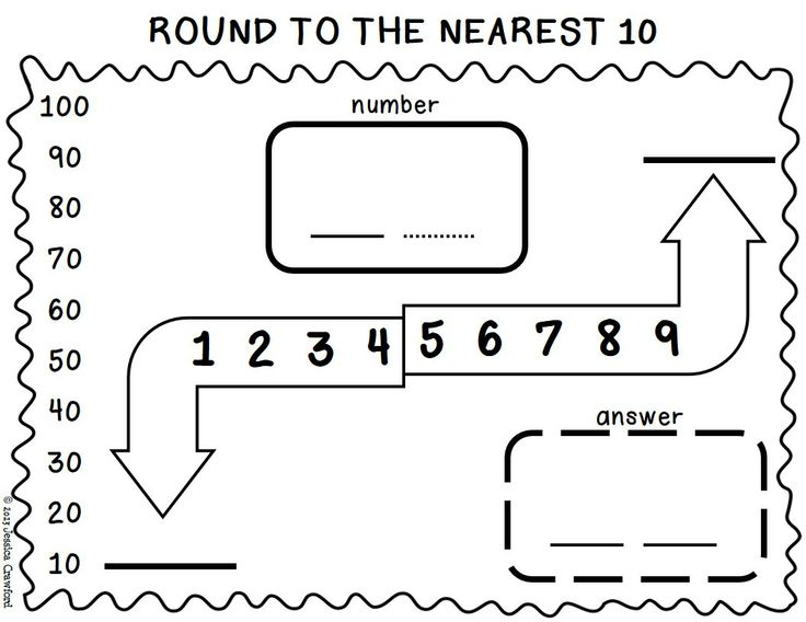 This is a set of eight different graphic organizer work mats for students to use to frame their thinking while rounding numbers to the nearest 10s, 100s, 1,000s, or 100,000s!  $